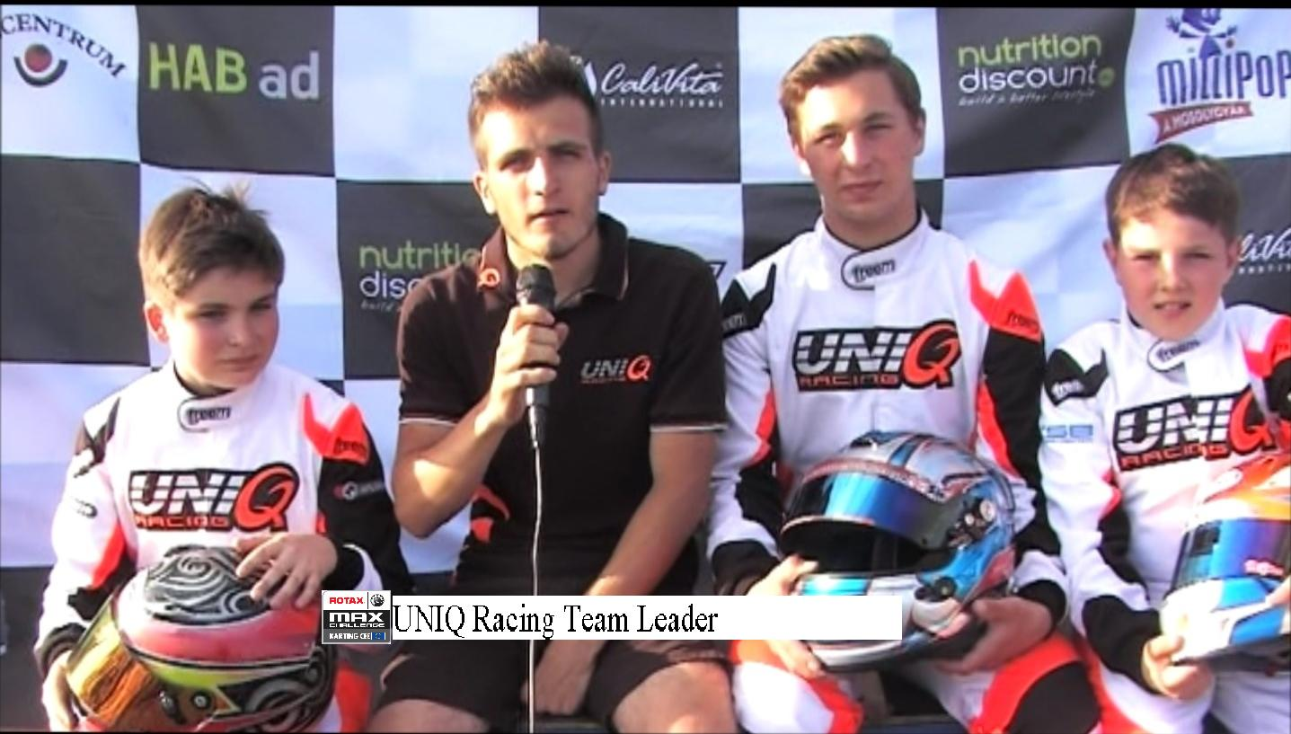 pannonia ring interview uniq racing karting cee on pannonia ring we could catch one of the most successful team on this round the uniq racing team from