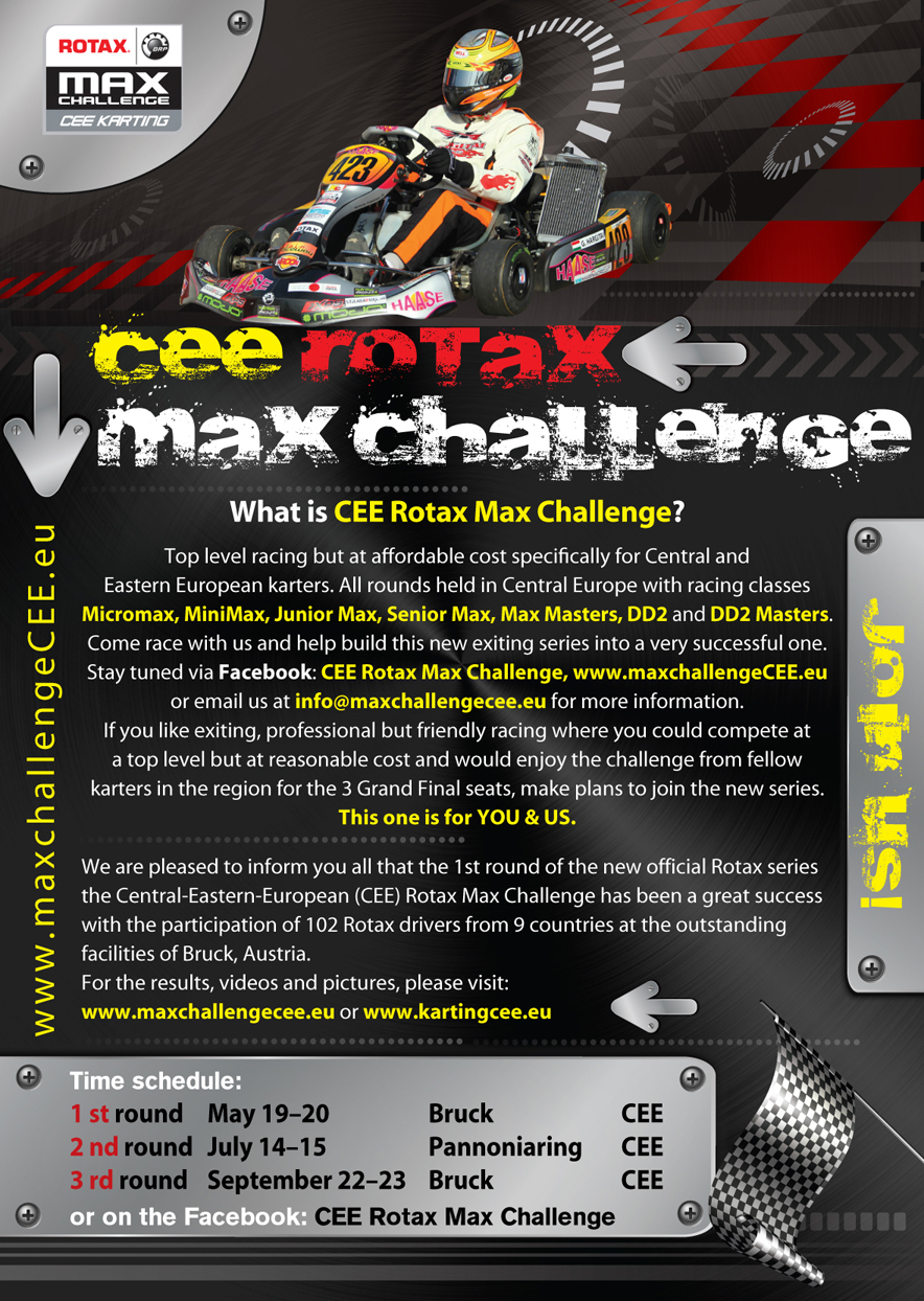 What is CEE Rotax Max Challenge?   Karting CEE